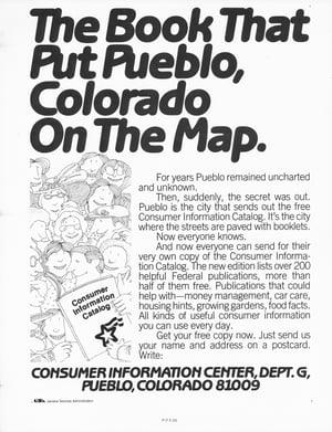 Public service print ad 1980