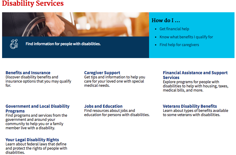 Disability Services Section-1