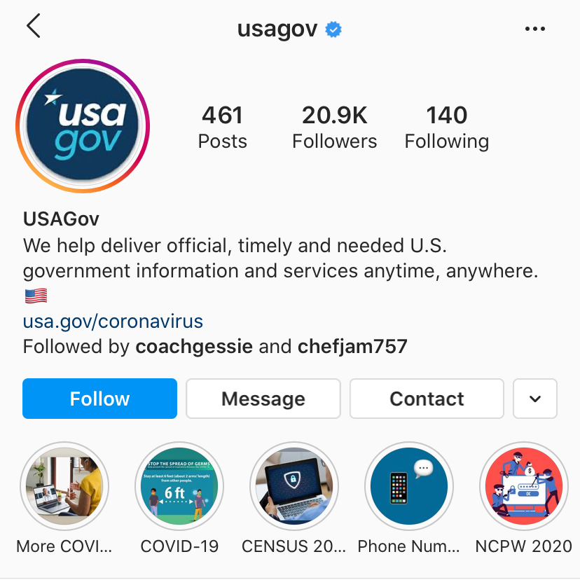 Six Things We Learned From Our @USAGov Instagram Audit