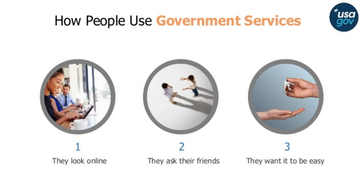 How people use govt services image