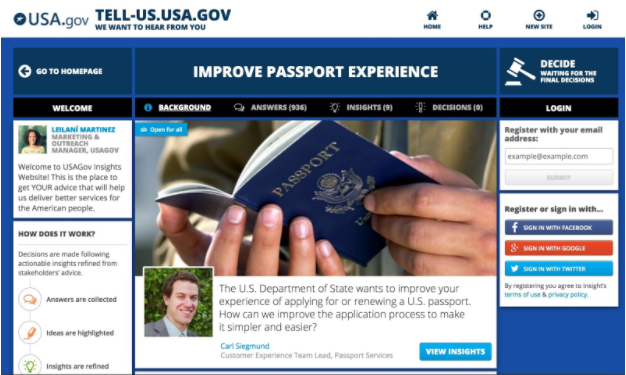 USAGov and State Department Partner to Streamline Passport Process